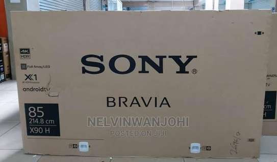 Sony 85 Inch Android HDR 4K UHD Smart LED TV - KD85X9000H +Free TV Guard image 1