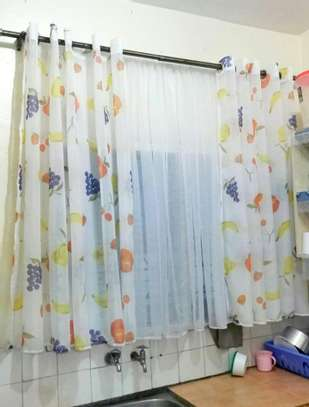 Designed kitchen curtains image 5