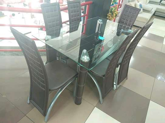 6seaters dining table. it's at offer price.