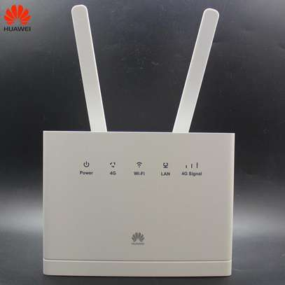 Huawei  4G WiFi Router - Supports Faiba 4G And Any other Simcard