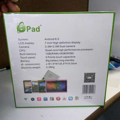 Kids Tablets New 8gb 1gb ram - Wifi Enabled image 2