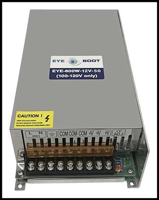 Industrial Power Supply Unit (PSU) 12V 50A. image 1