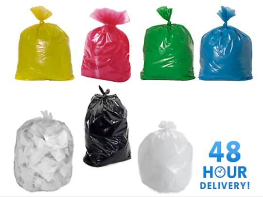 Garbage bags/ Refuse Bags** Size:   24 x 36 @ 950 per packet of 50pcs.  30 x 36 @ 1250 per packet of 50pcs
