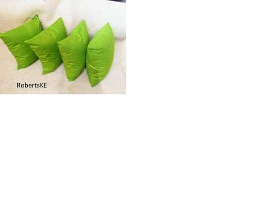 Green Throw Pillow image 1