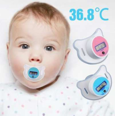 Portable Digital LCD Baby Pacifier Thermometer image 5