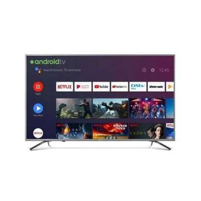 New 55 inch hisense smart 4k android tv cbd shop call now image 1