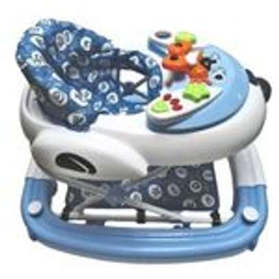 King'S Collection 2 in 1 Baby Walker/Rocker-light blue. image 4