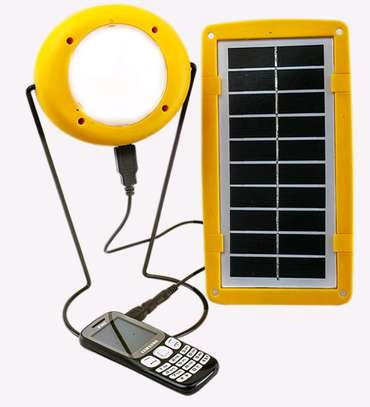 SUN KING PRO 200 Portable Solar Light with Phone USB Charging image 1