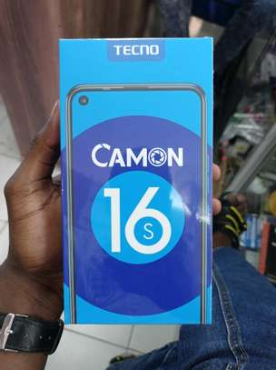 Tecno Camon 16s 128GB brand new and sealed in a shop image 1