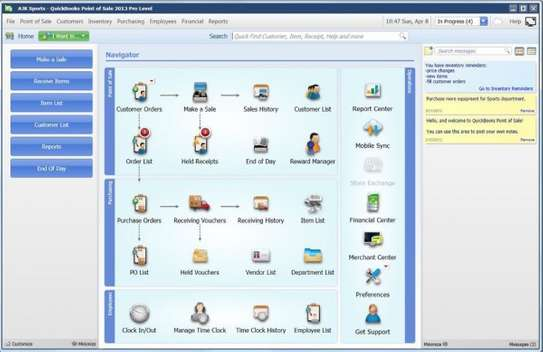 Quickbooks Point Of Sale - POS System Software image 2