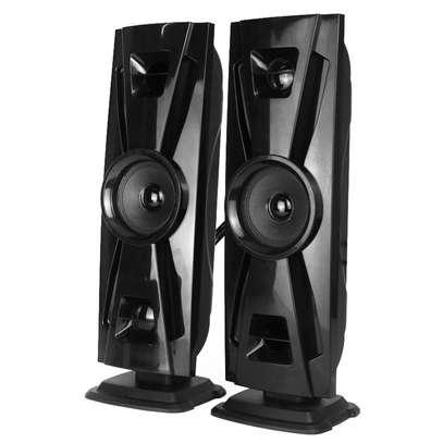CLUBOX IC-403 HI-FI BT Multimedia Speaker System black&gold 60w ic-403 image 2