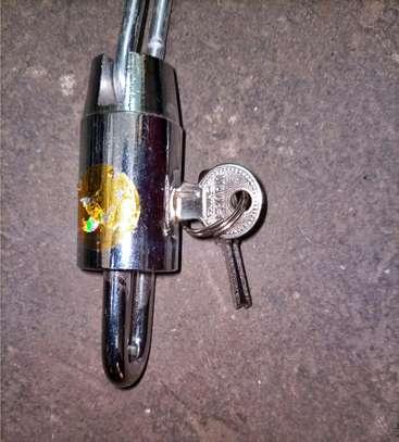 Bike Chain with lock image 2