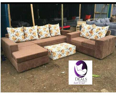 Six Seater Corner Seat + Sofabed/ Two Seater image 5