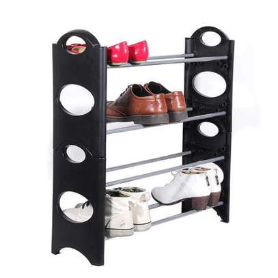 4 layer mini shoe rack image 1