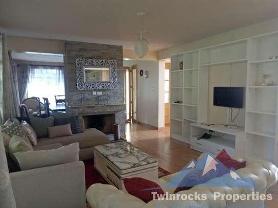 Furnished 4 bedroom house for rent in Karen image 16