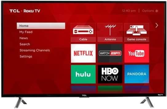 TCL 32'' Full HD Smart Digital LED TV - Black image 1