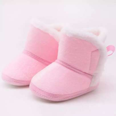 Warm fur lined Baby boots image 3