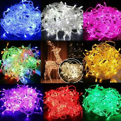 LED waterproof outdoor Christmas tree lights fairy lights string party lights10m image 1
