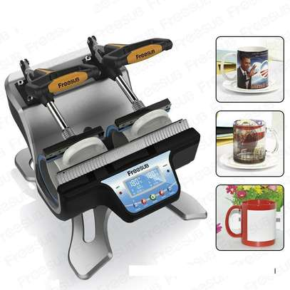 Freesub Mini Double-Station Mug Heat Press Machine image 1