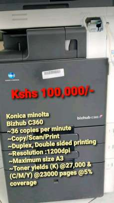 Photocopies machine Konica Minolta c360 image 1