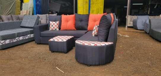 A classy corner sofa image 1