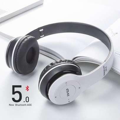 Wireless Headphones Bluetooth Headset P47 Stereo image 2