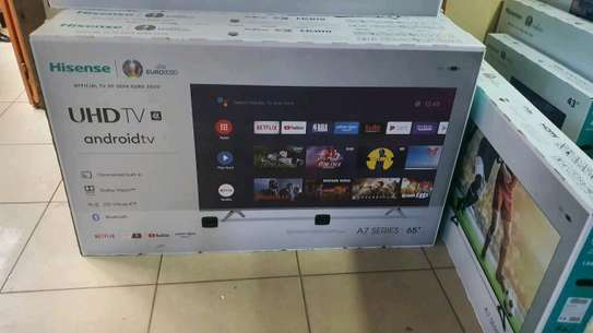 Hisense 65 smart 4k android tv image 1
