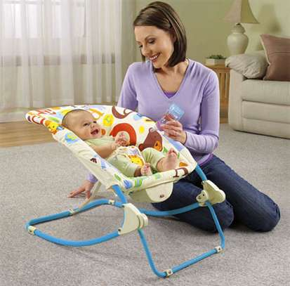 New generation 2in1 deluxe Infant-to-Toddler Rocker image 1