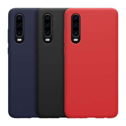 Silicone case with Soft Touch for Huawei P30 P30 Pro P30 Lite image 3