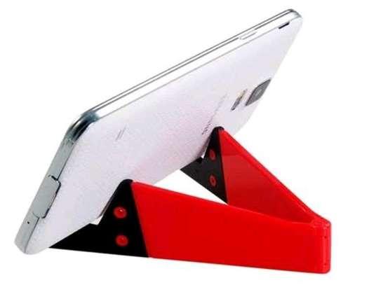 V Shape Foldable Mobile Phone Stand image 3