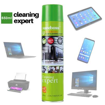 650ml Anti-static Universal Foam Cleaning Agent Spray PC Surface Cleaner