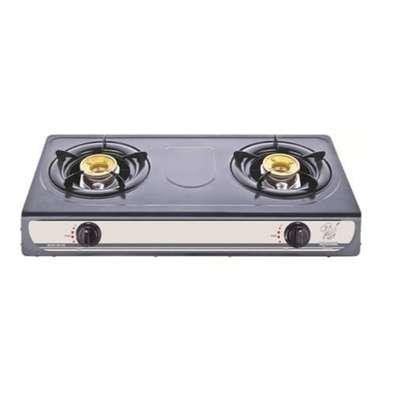 2 Burner metallic gas cooker image 1