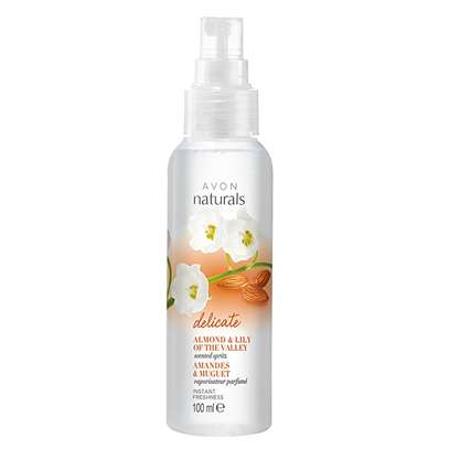 Naturals Almond & Lily of the Valley Scented Spritz