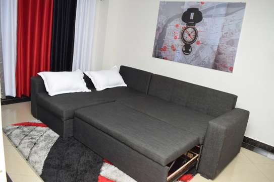 Sofabed with Storage Space image 3