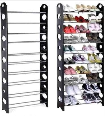 Over door shoe rack image 2