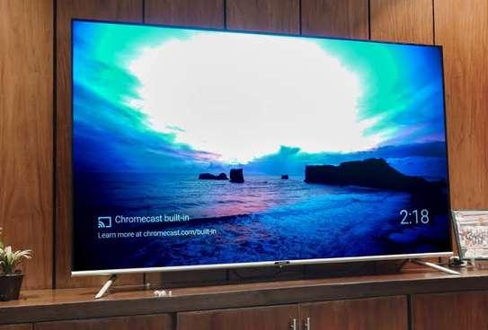 Skyworth 55 inches Android Smart UHD-4K Digital TVs image 1