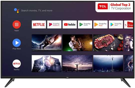 TCL – 43″ ANDROID UTRA HDR 4K SMART LED TV image 1