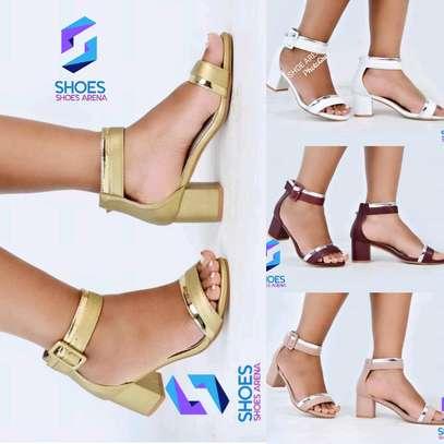 Quality Chunky Heels image 6