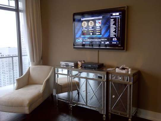 TV Mounting Service with On-wall Wire Concealment image 12