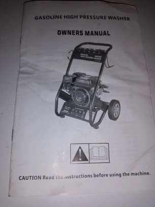 BRAND NEW CAR Wash Machine WITH 7.5HP image 2