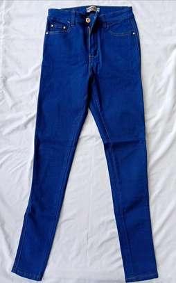 Highwaist regular jeans