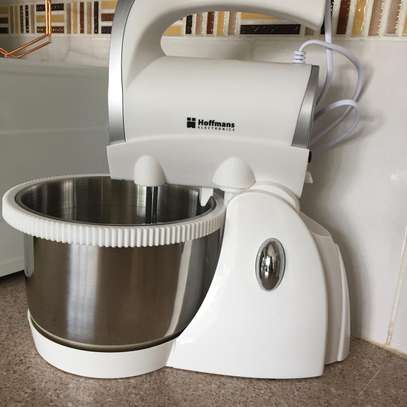 Hoffmans 5 speed stand hand mixer 1000watts Automatic rotation 3L image 2