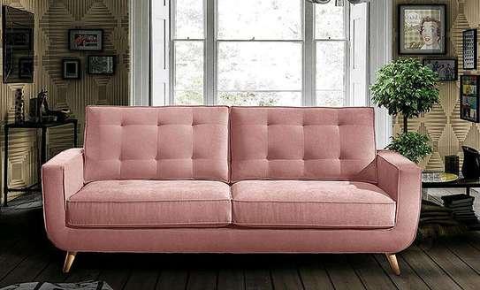 Pink sofas/three seater sofas/modern sofas image 2