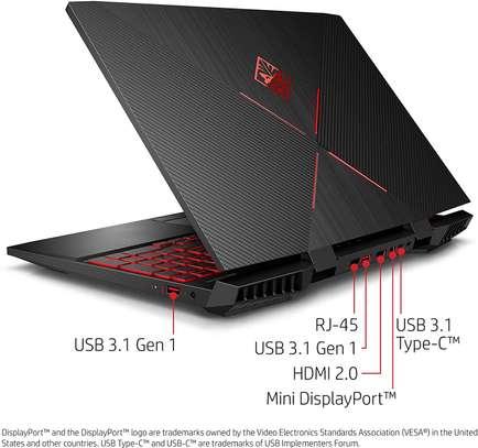 OMEN by HP 2018 15-inch Gaming Laptop, Intel i7-8750H Processor, NVIDIA GTX 1060 6 GB, 16 GB RAM,128 GB SSD, 1 TB HDD, Windows 10 (15-dc0030nr, Black) image 2