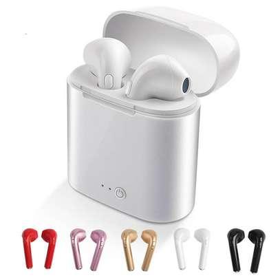i 7 wireless bluetooth earphone image 1