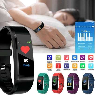 115 PLUS Smart Watch Heart Rate Smartwatch Sport Watch for ios android image 3
