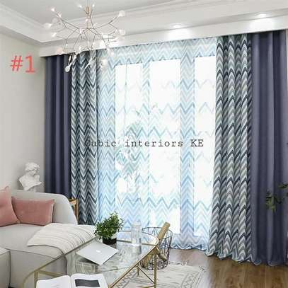 Beautiful curtains and sheers image 1