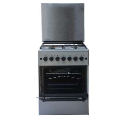Standing Cooker, 60cm X 60cm, 3 + 1, Electric Oven, Kircili Grey image 2