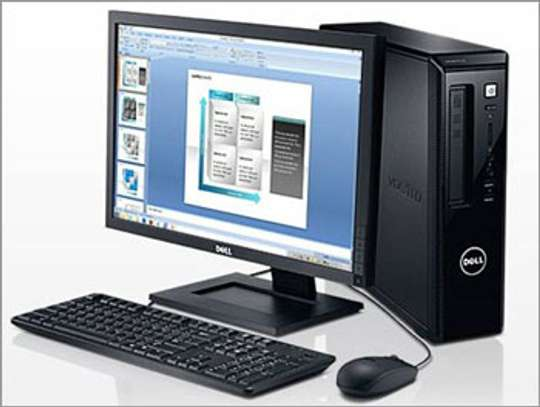 "Dell Core i3 complete desktop. 17"" tft"