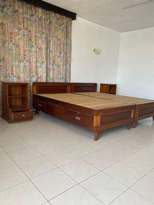Super KING Size Bed With 2 Night Stands image 3